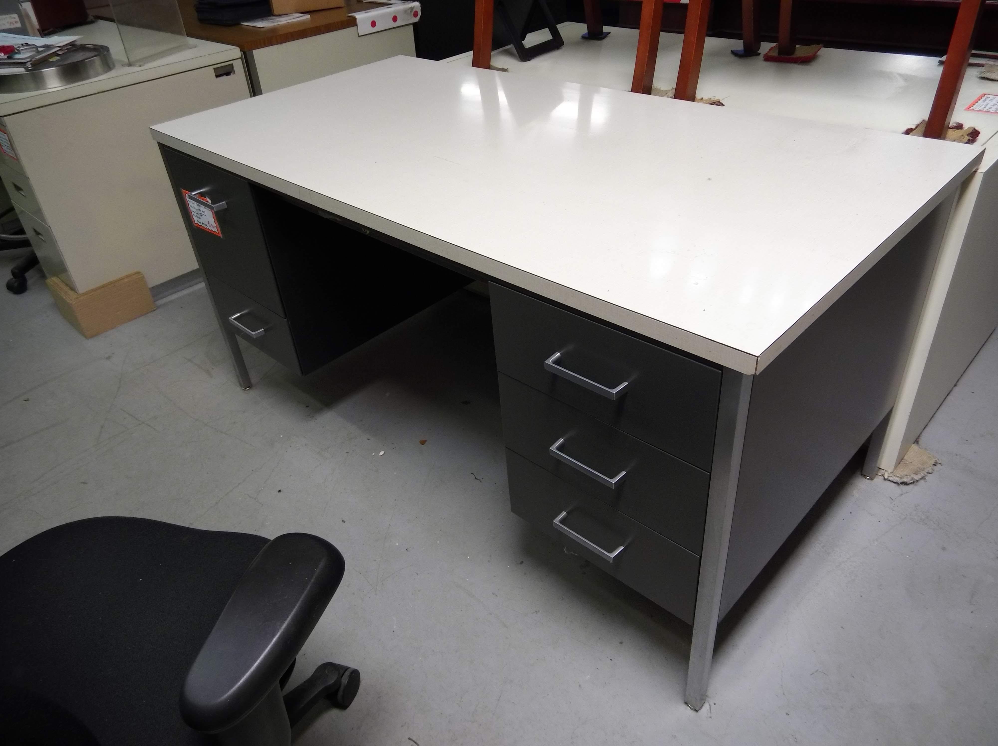 Used 30x60 Double Pedestal Desk Dunes Office